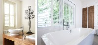 Bathroom Shutters | Interior Window Shutters | Plantation ...