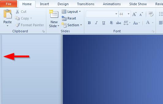 Cómo Mostrar Las Diapositivas De PowerPoint A La Izquierda