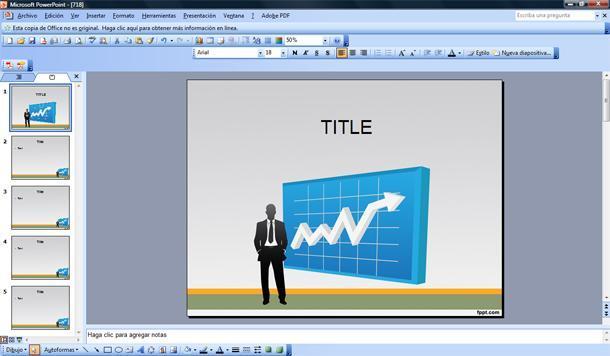 Plantilla PowerPoint Análisis de Negocio Plantillas PowerPoint Gratis