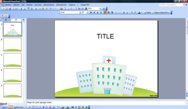 Hospital Plantilla PowerPoint Plantillas PowerPoint Gratis
