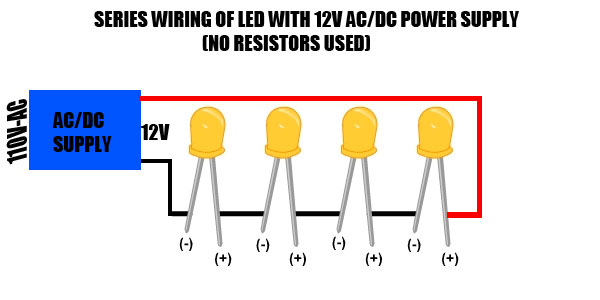 Led Series Wiring - Wiring Diagrams