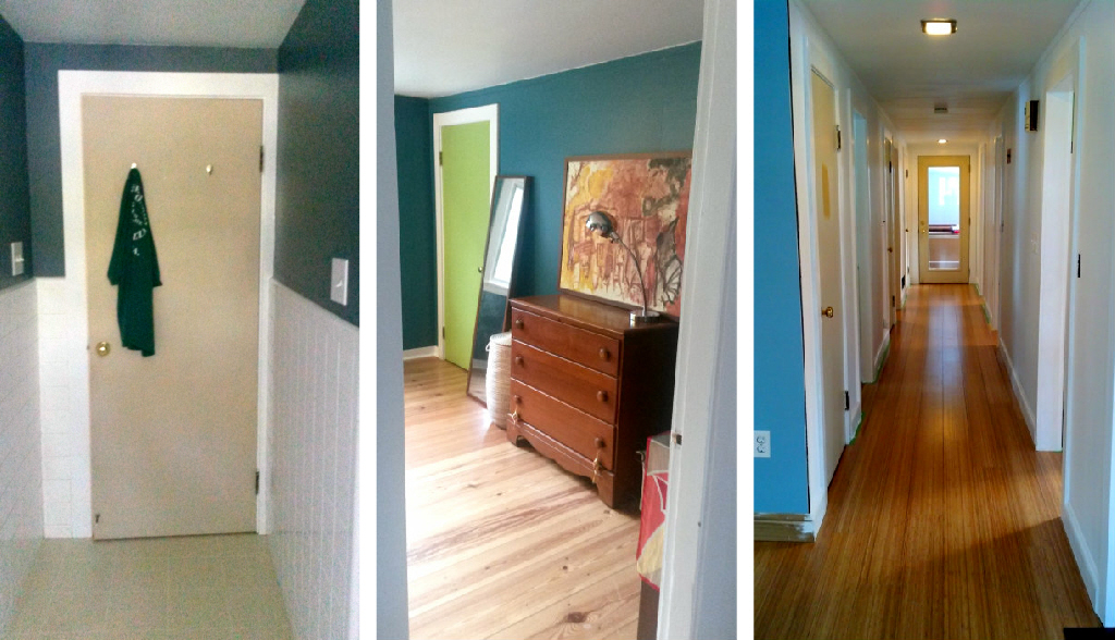 painting doors and hardware how our doors looked right before the. Black Bedroom Furniture Sets. Home Design Ideas