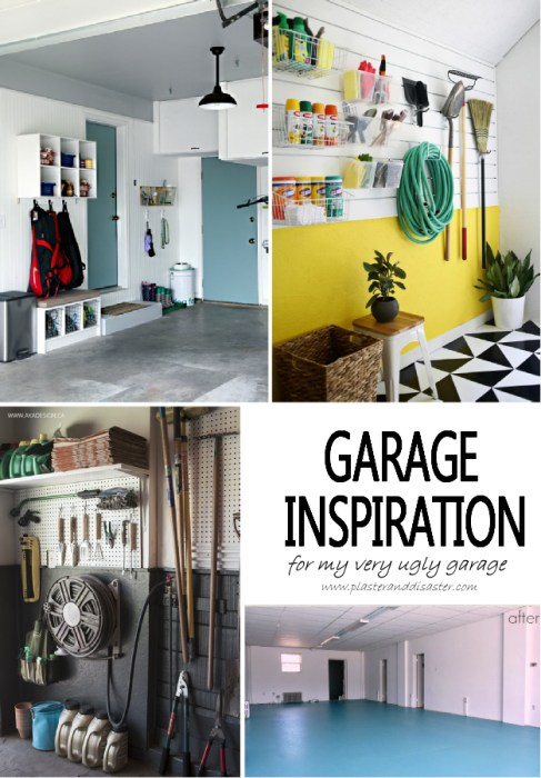 Garage Inspiration - Plaster & Disaster