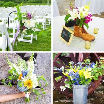 DIY Wedding Flowers - Plaster & Disaster