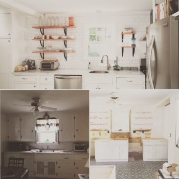 Kitchen Transformation -Three Months to Awesome - Plaster & Disaster