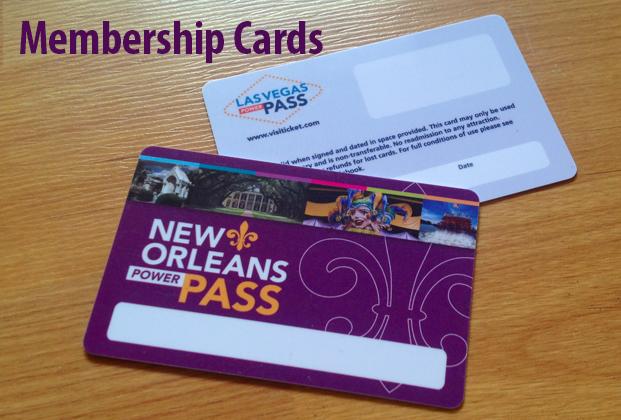Custom Plastic Card Design - Full Color Plastic Membership Card