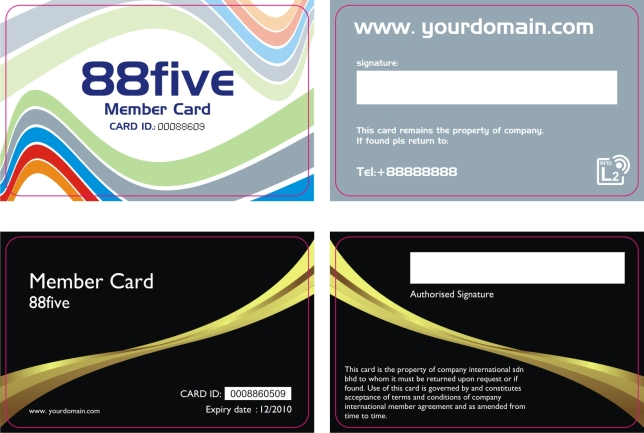 Gold Archives - Plastic card - membership cards templates
