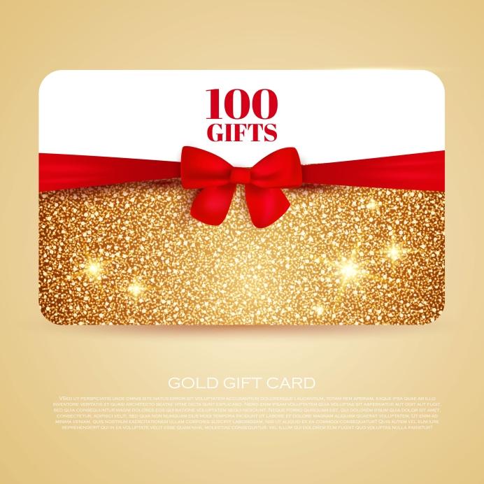 Free gift card design template - Plastic card - card design template