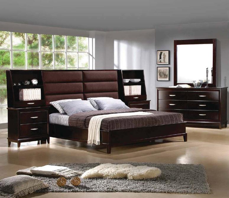 High Rise Modern Storage Platform Bed Modern Value