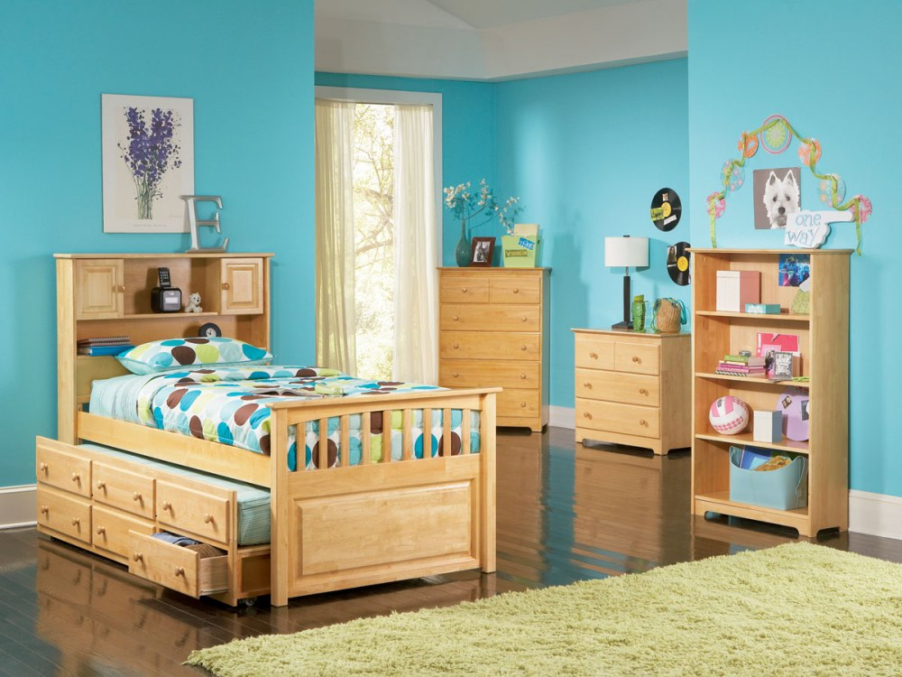 Stow Away Bookcase Captains Bed Boys