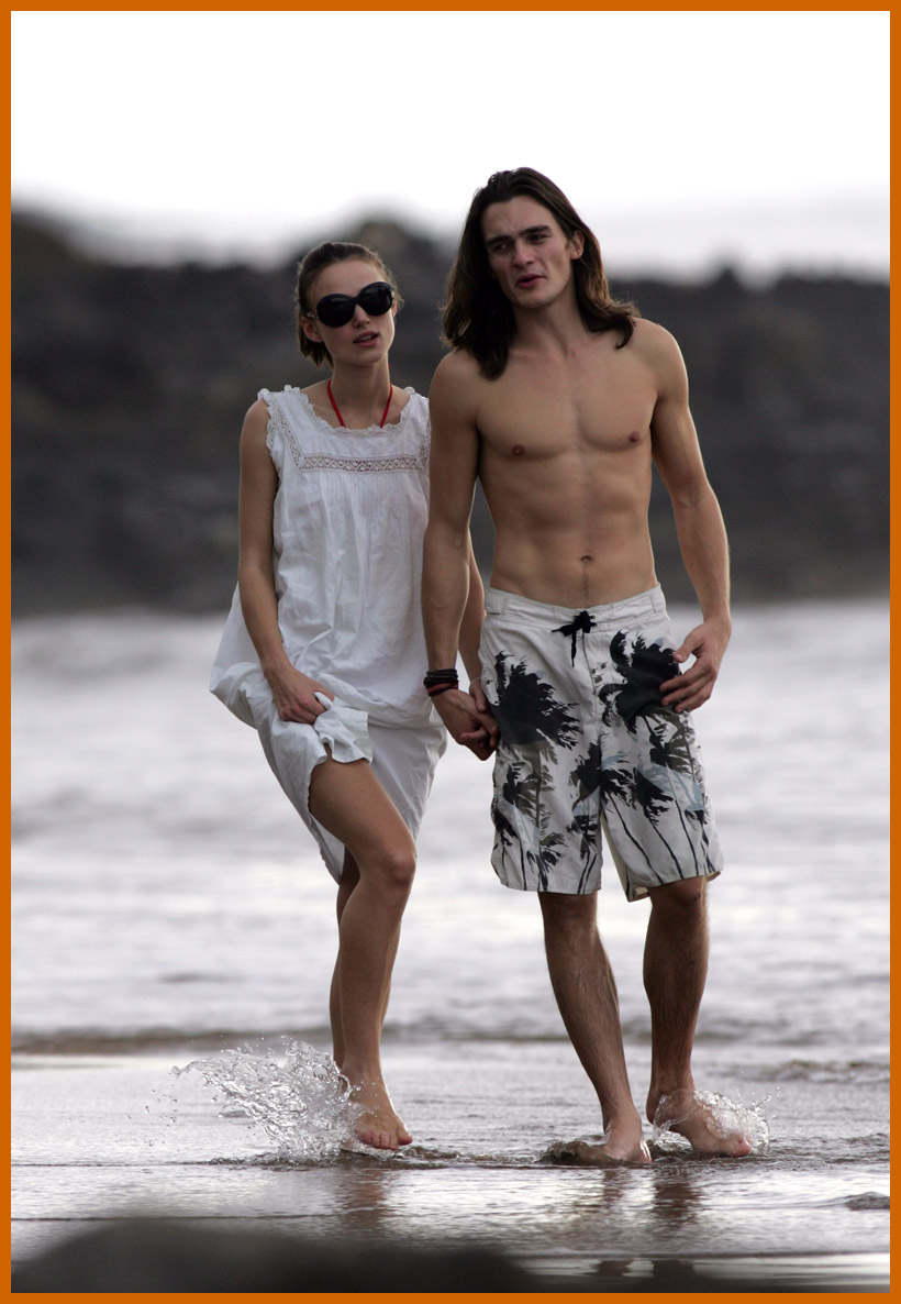 Keira Knightley In Bikini With Her Beau Keira Knightley