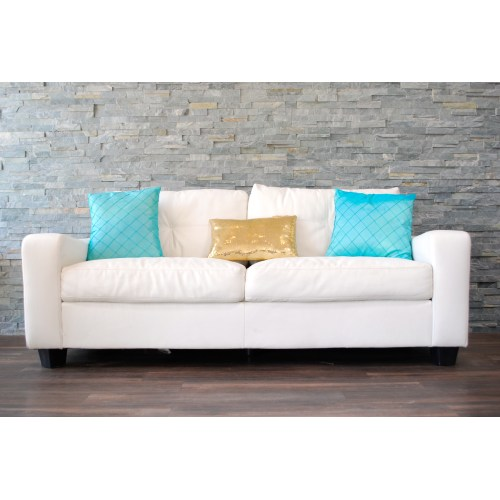Medium Crop Of White Leather Couch