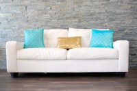 White Couch Throw Pillows