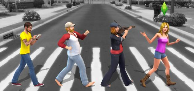New The Sims 4 Screenshot! Abbey Road