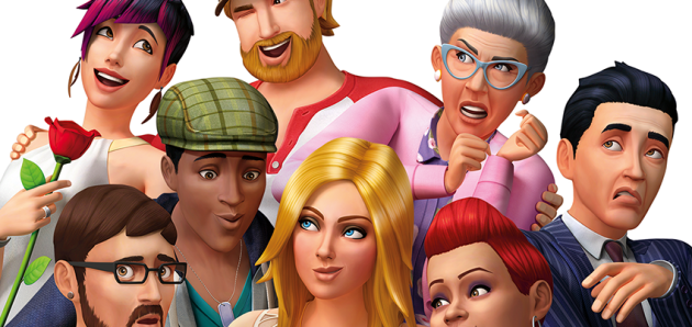 The Sims 4 Box Art
