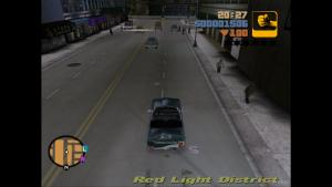 Cruising the mean streets of Liberty City