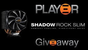 BeQuiet Shadow Rock Slim giveaway