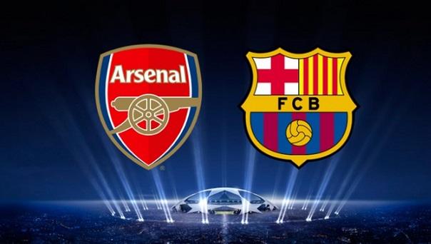 UEFA Champions league Arsenal vs Barcelona