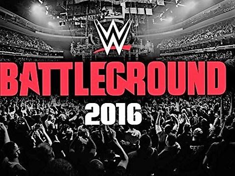 WWE Battleground 2016 results