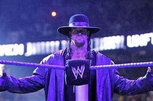 The Undertaker's schedule for WrestleMania 33