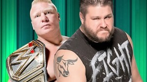 WWE looking to book Kevin Owens feud with Brock Lesnar