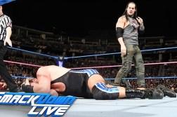 Baron Corbin vs Jack Swagger Smackdown Live October 18