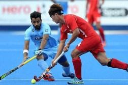India vs Korea Hockey Match Asian Champions Trophy