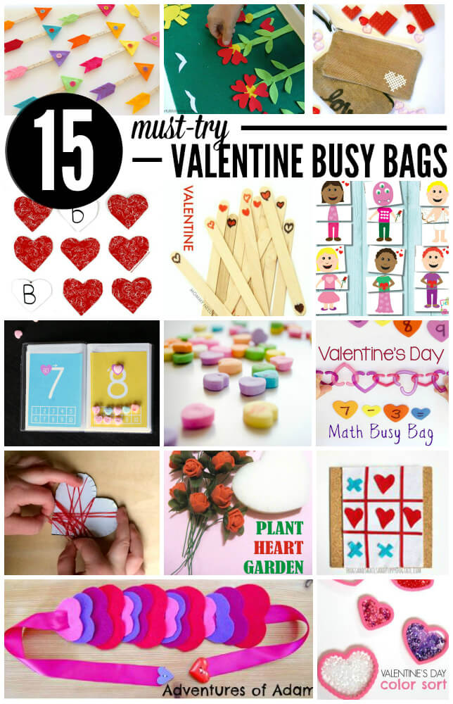 15 Must-Try Valentine Busy Bags