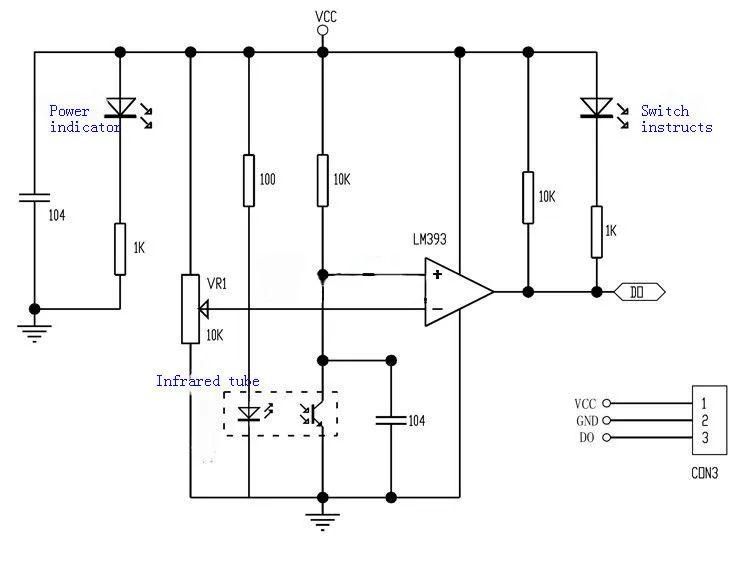 series of open circuit schematic