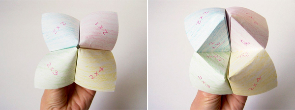 Times Table Fortune Tellers (with printable tally sheets) \u2013 Playful