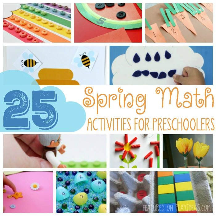 25 Spring Math Activities For Preschoolers - photo of spring