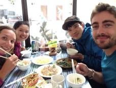 Avec Pou la Thaïlandaise et Kim, le Coréen