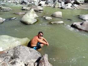 Un peu d'eau froide...