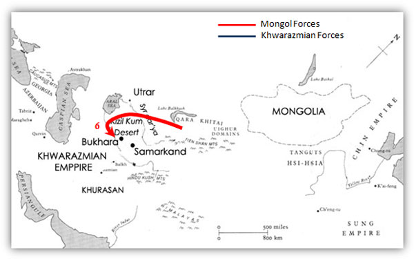 TODAYu0027S MINDFUCK (THE PIC) The Mongol Empire at its peak in 1279 - resume print out