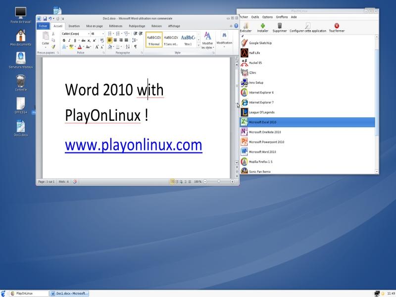Microsoft Office 2010 - Skrypty - PlayOnLinux - Run your Windows