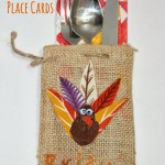 A to Zebra Celebrations Contributor Post: Easy Thanksgiving Place Cards