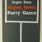 Super Bowl Party Game Idea and $100 Giveaway