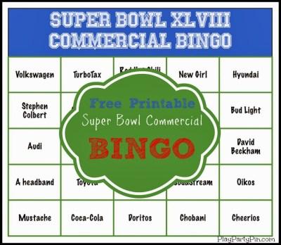 Bingo card large