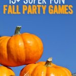 Fall Minute to Win It Party Games and Ideas
