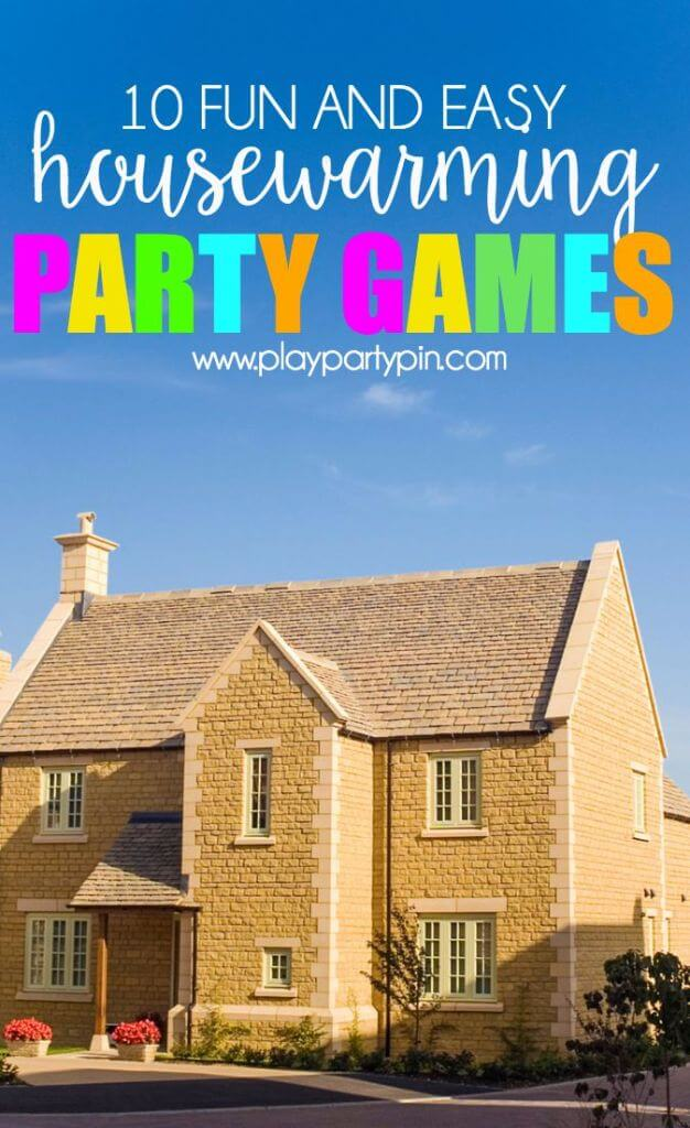 10 Surprisingly Fun Housewarming Party Games to Host The Absolute - christmas list templates