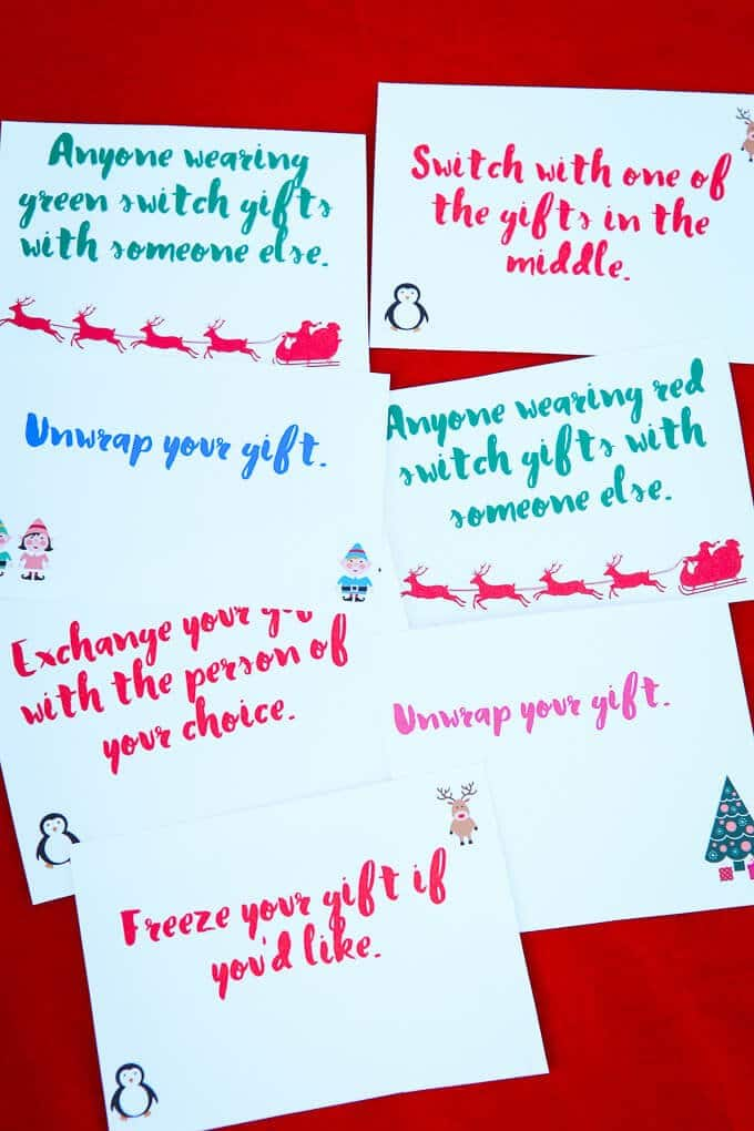 11 Fun  Creative Gift Exchange Games You Have to Try - Play Party Plan
