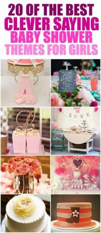 Unique and Creative Baby Shower Themes for Girls Ever ...