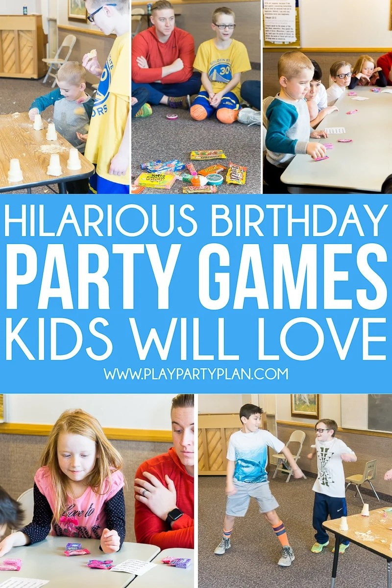 Large Of Birthday Party Games