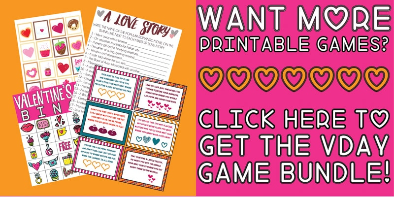 30 Valentine\u0027s Day Games Everyone Will Absolutely Love - Play Party Plan