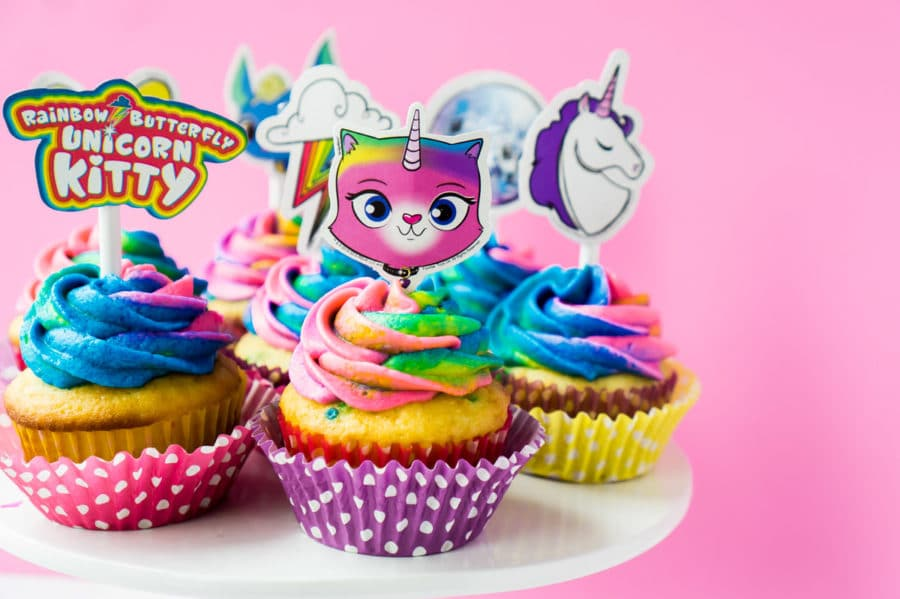 Easy Rainbow Butterfly Unicorn Kitty Party Ideas - Play Party Plan