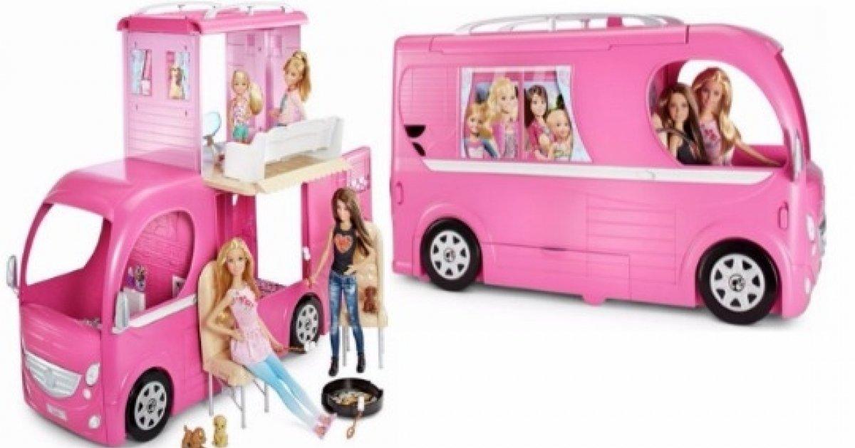 Barbie Pop Up Camper Playset 4999 Argos
