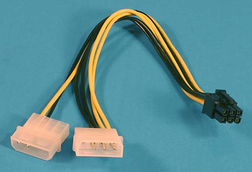 All about the various PC power supply cables and connectors