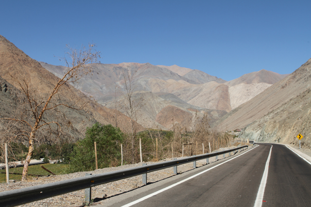 camino a la mina