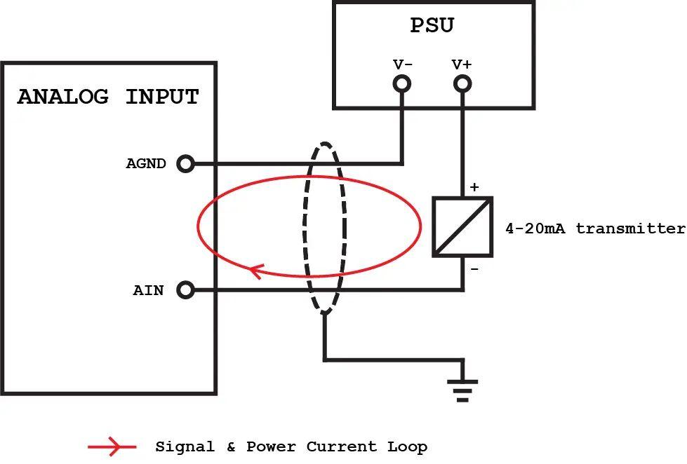 analog voltmeter schematic
