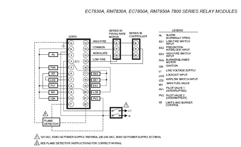 HONEYWELL ZONE CONTROL VALVE WIRING DIAGRAM 40004850 001 - Auto
